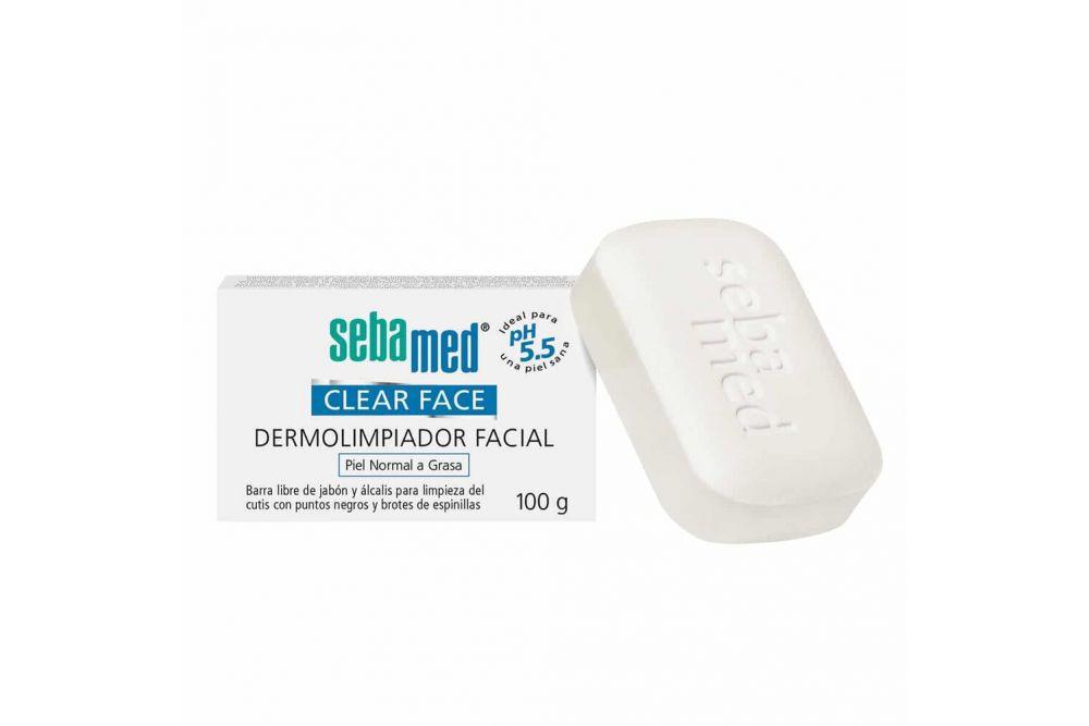 Sebamed Clear Face Jabón Dermolimpiador Barra Con 100 G