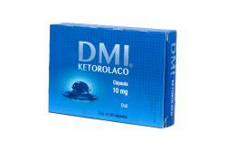 Ketorolaco 10 mg Caja Con 20 Cápsulas
