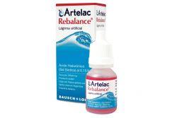 Artelac Rebalance Solución Oftálmica Caja Con Frasco Gotero Con 10 mL
