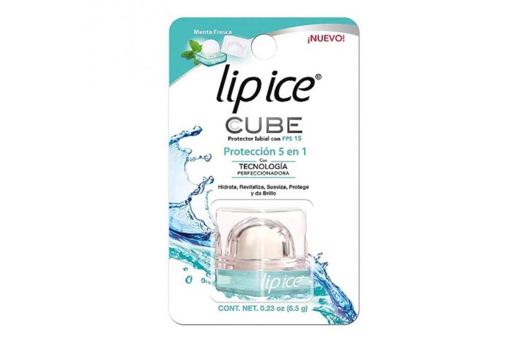 Lip Ice Cube Sabor Menta Fresca Empaque Con Una Pieza