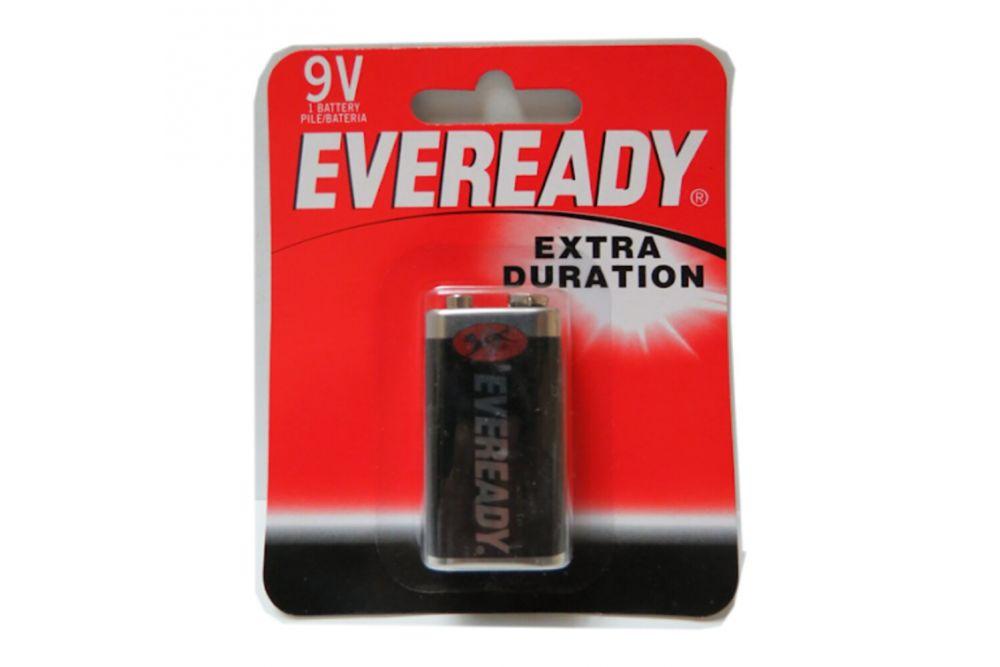 Pilas Eveready Extra Duración 9V Empaque Con 1 Pieza