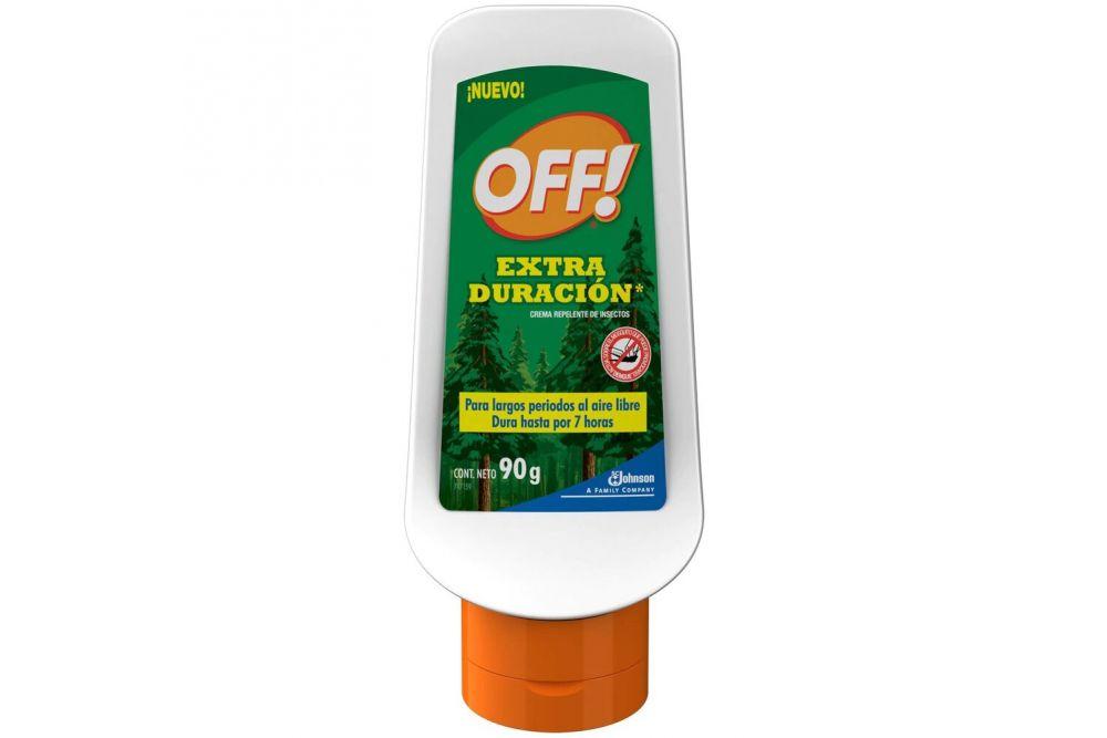 Off Crema Repelente Extra Duración Botella Con 90 g