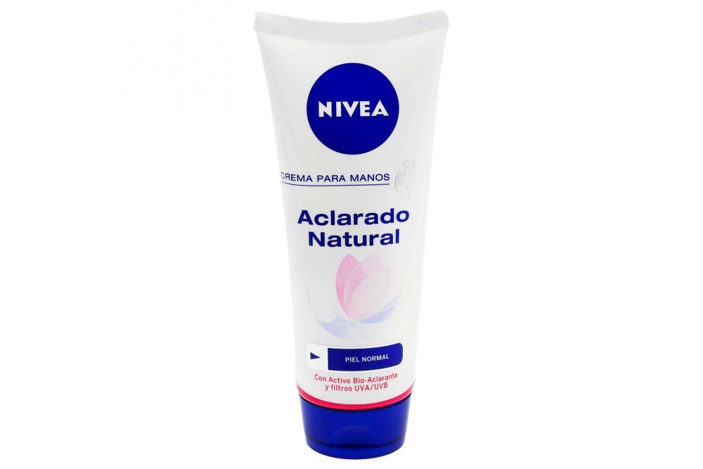 Nivea Crema Aclarado Natural Tubo Con 75 mL