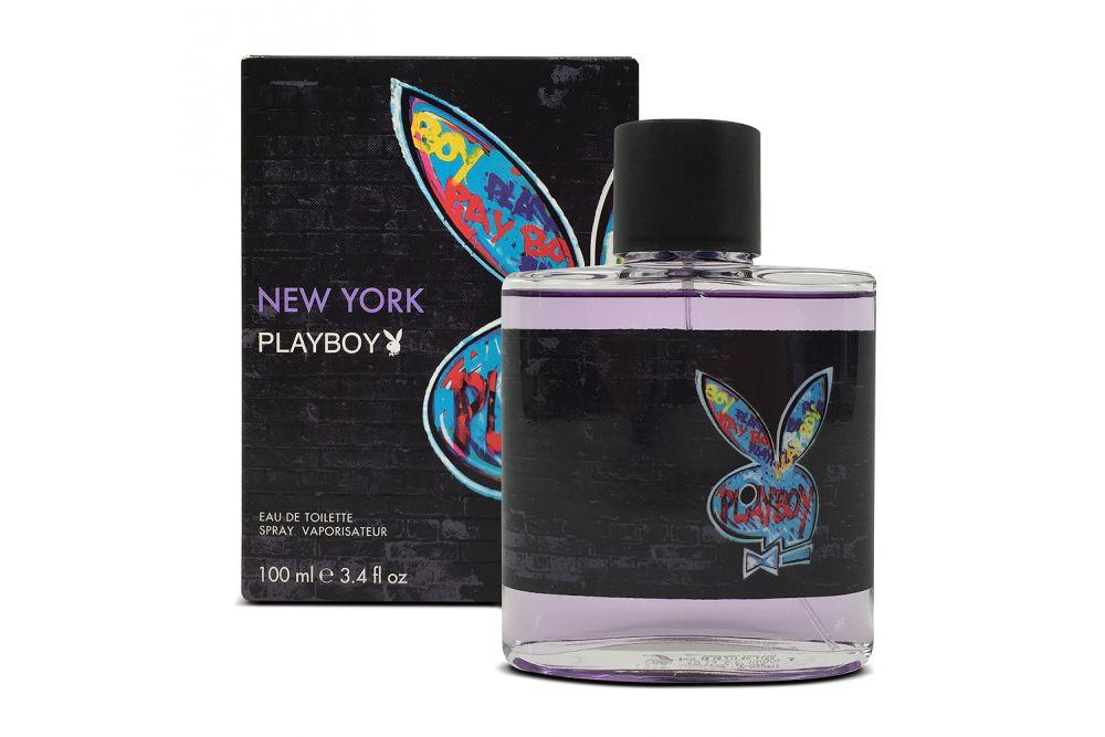New York Playboy Caja Con Spray De 100 mL