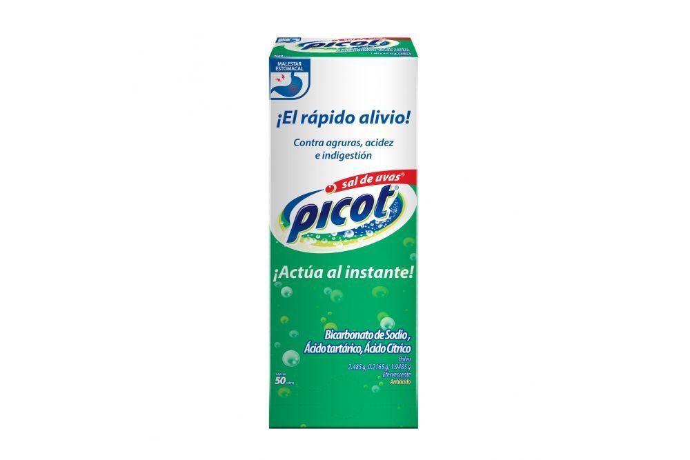 Sal De Uvas Picot 5 g Caja Con 50 Sobres