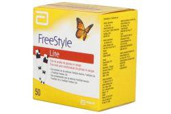 FRM-Free Style Lite Tiras De Prueba De Glucosa En Sangre Caja Con 50 Piezas