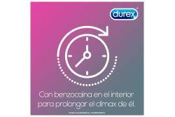 Condones Durex Con Retardante Caja Con 3 Piezas