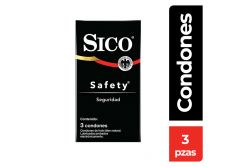 Preservativo Sico Safety Seguridad