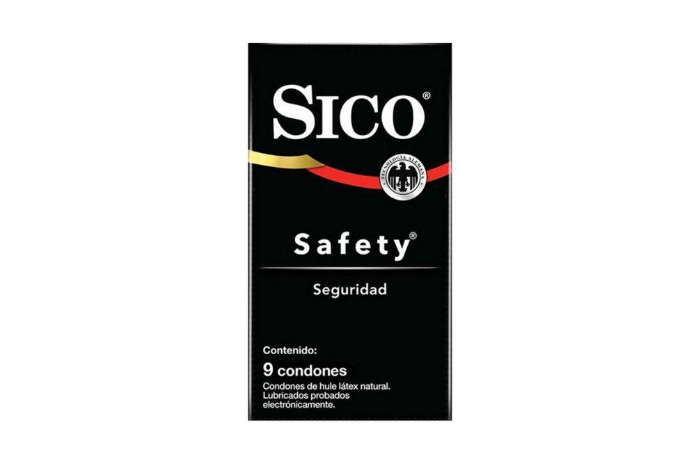Sico Negro Preservativo Caja Con 9 Condones