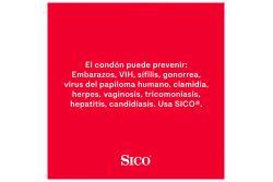 Preservativo Sico Sens Feel Prevencion De Enfermedades