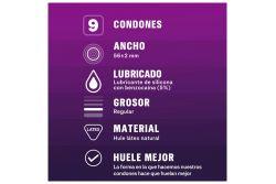 Sico Clímax Mutuo Condones Lubricados