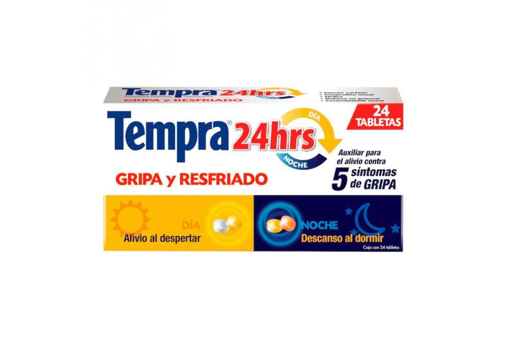 Tempra 24 Horas Caja Con 24 Tabletas