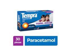 Tempra Masticable Paracetamol