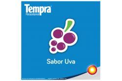 Tempra Masticable 80 mg Caja Con 30 Tabletas Sabor Uva