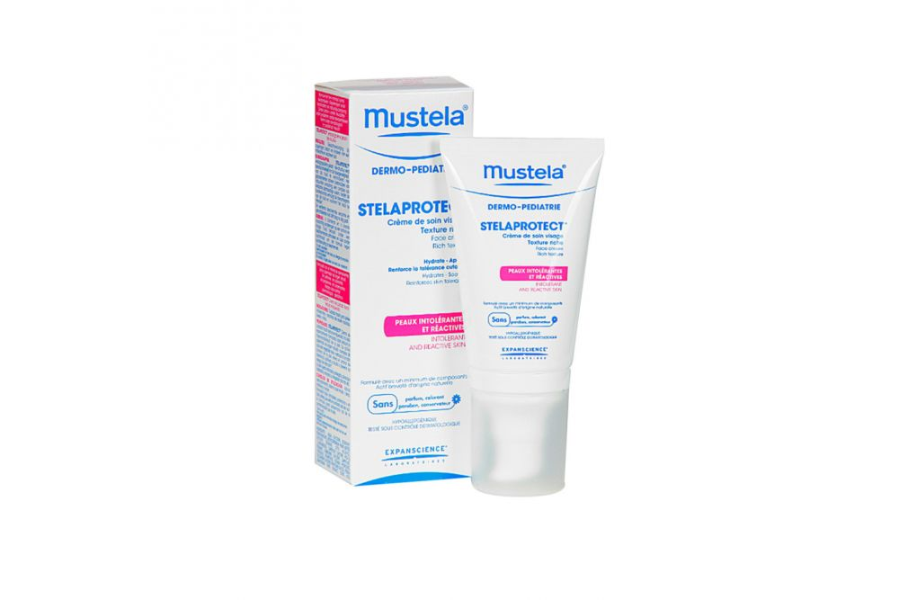 Mustela StelaProtect Crema Facial Envase Con 40 mL