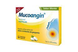 Mucoangin 20 mg Caja Con 20 Pastillas