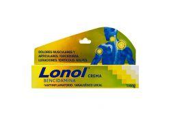 Lonol 5 g Crema Caja Con Tubo Con 60 g
