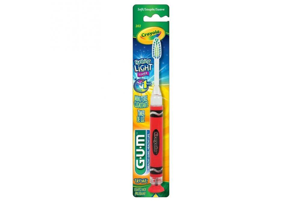 Gum Cepillo Dental Flasing Light Empaque Con 1 Pieza