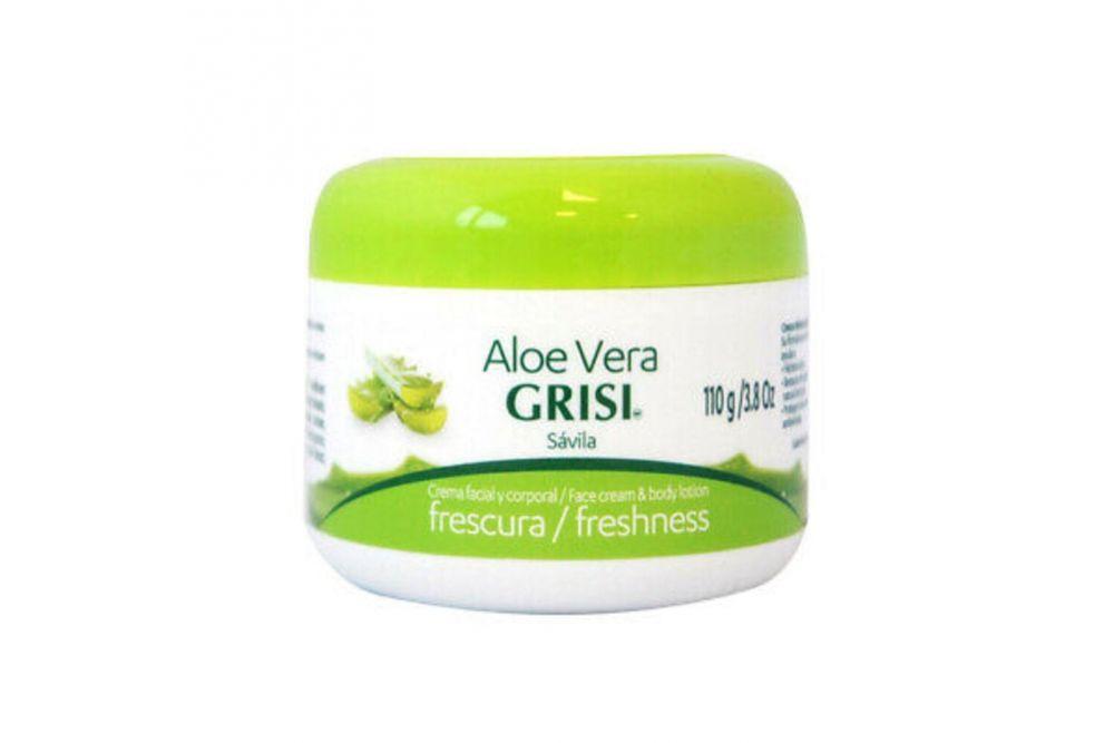 Grisi Aloe Vera Crema Sólida Facial y Corporal Bote Con 110g