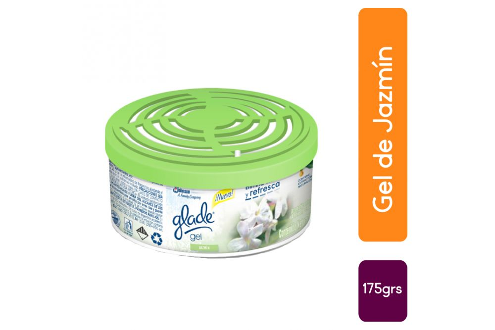 Glade Aroma Jazmin Gel Con 170 g