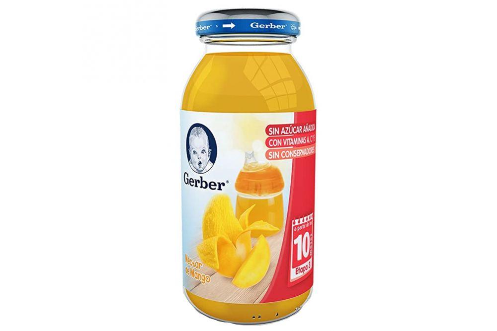 Gerber Néctar 3era Etapa Frasco Con 230 mL Sabor Mango
