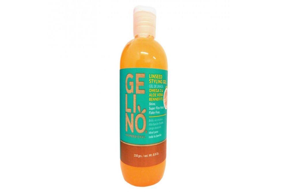 Gelino Profesional Gel de Linaza Para Peinar Botella Con 250 g