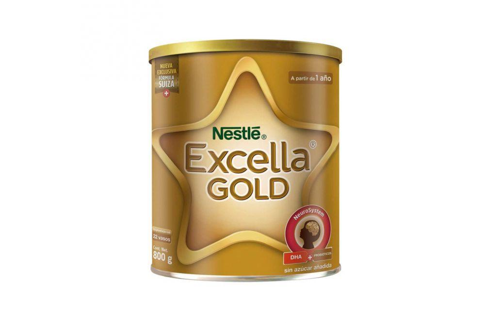 Excella Gold Lata Con 800 g
