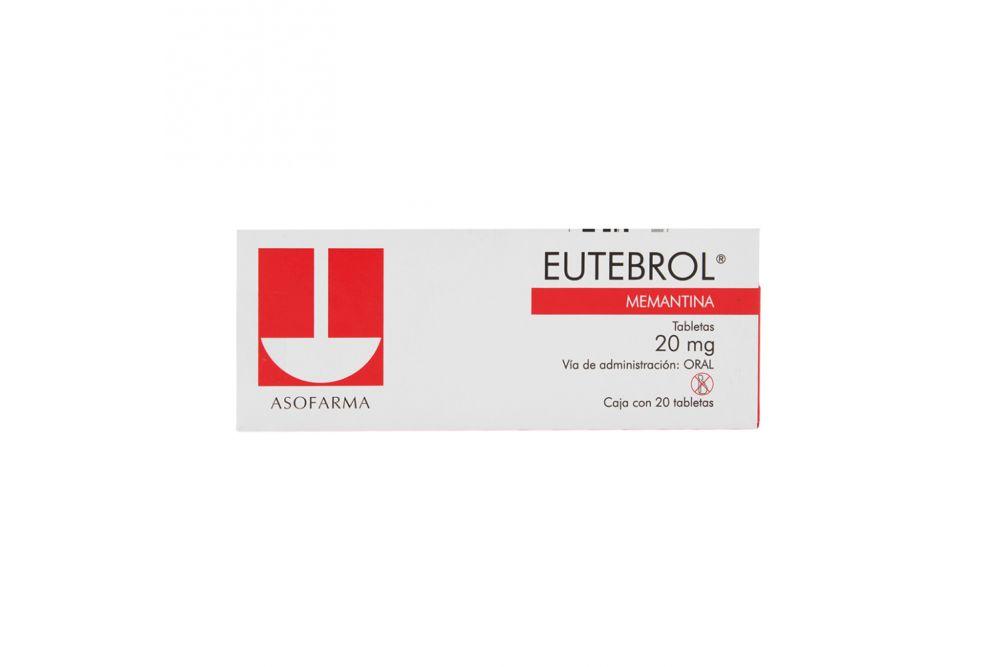 Eutebrol 20 mg Caja Con 20 Tabletas