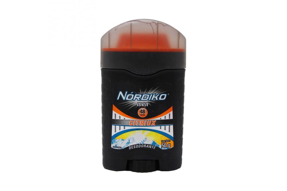Desodorante Nórdiko Men Citriux Envase Con 50 g