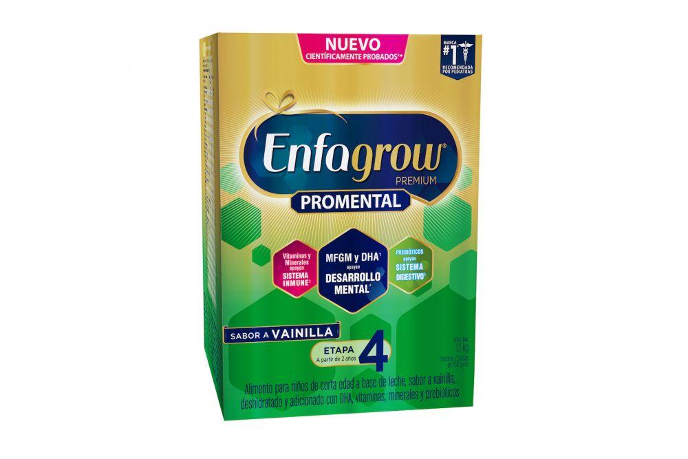 Enfagrow Premium Etapa 4 Polvo 1100 g Caja Con 2 Bolsas Con 550 g - Sabor Vainilla