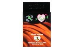 Preservativo DL Empaque Con 3 Piezas Sabor Tropical