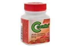 Cevalin 500 mg Frasco Con 20 Tabletas Masticables Sabor Naranja