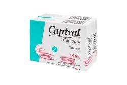 Captral 50mg Caja Con 30 Tabletas