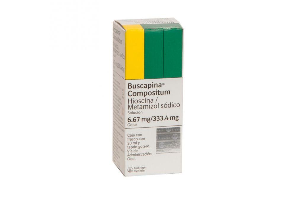 Buscapina Compuesta 6 mg Caja con Frasco Gotero 20 mL