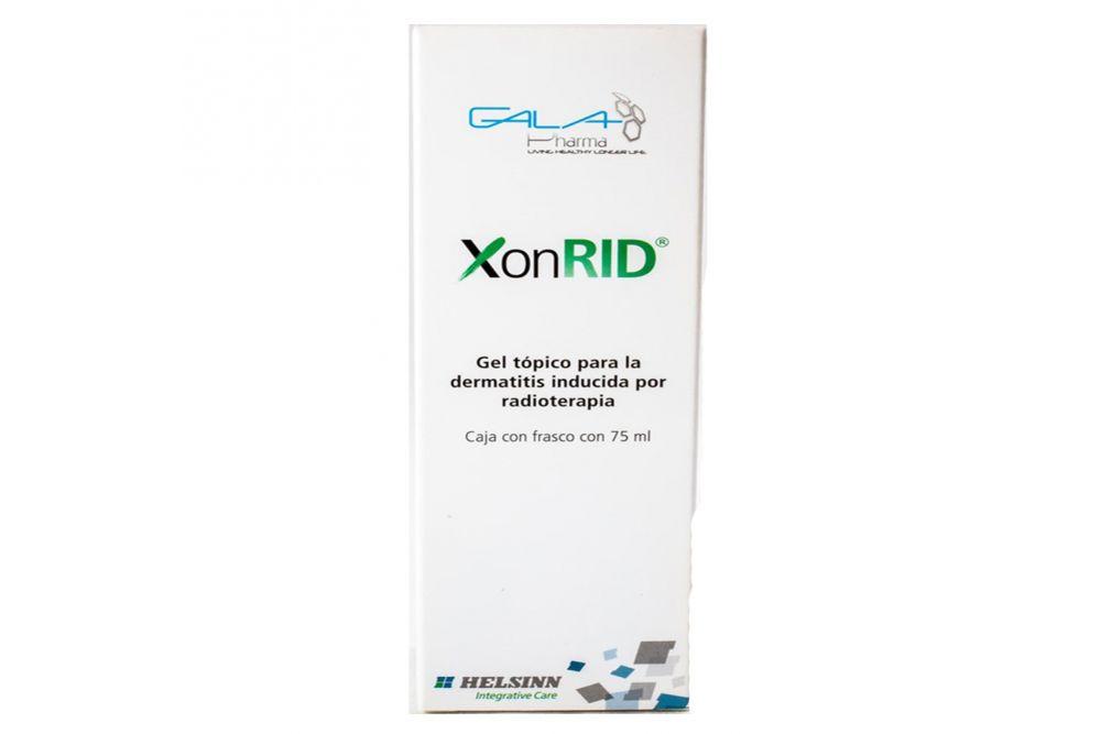 XonRID Gel Tópico Frasco Con 75 mL
