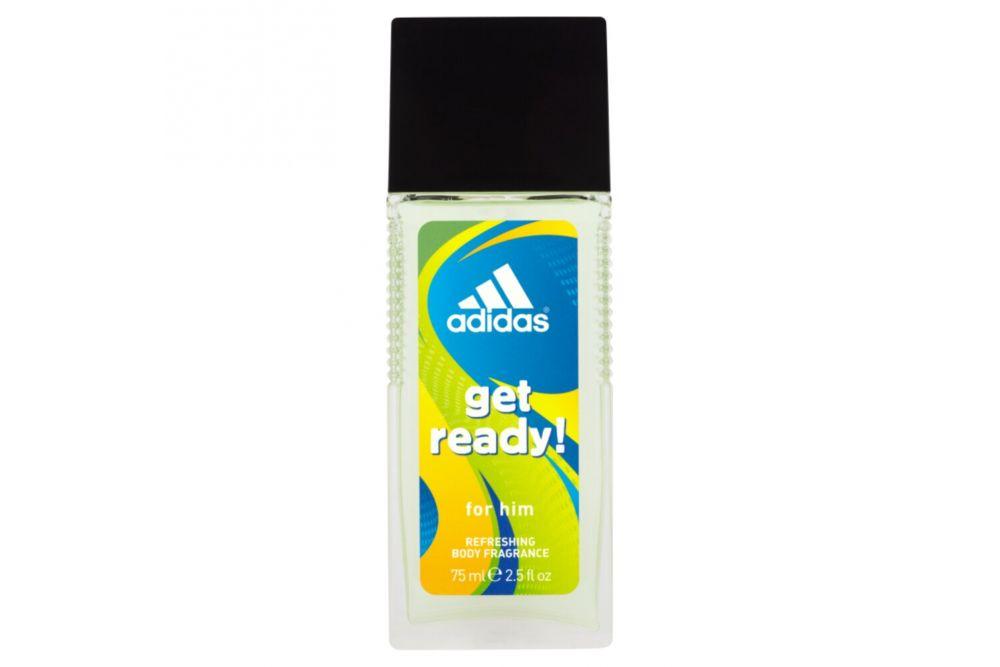 Adidas Get Ready Refreshing Body Fragrance Botella Con 75mL