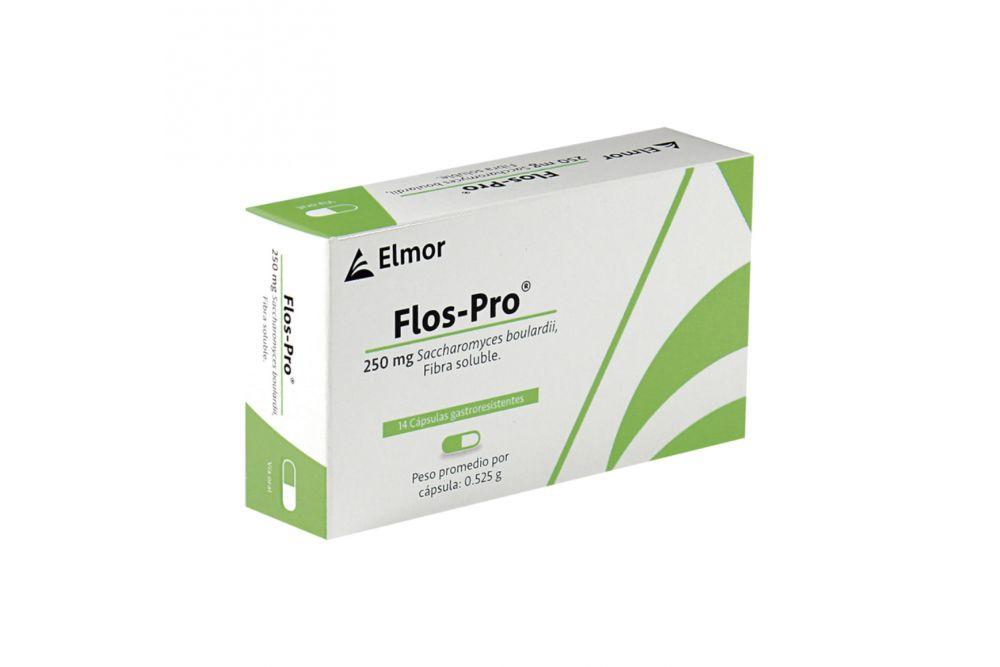 FlosPro 250 mg Caja Con 14 Cápsulas