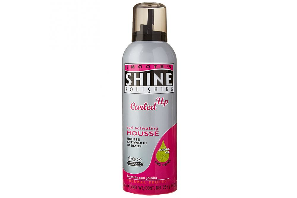 Smooth Shine Polishing Mousse Curled Up Bote Spray Con 255 g