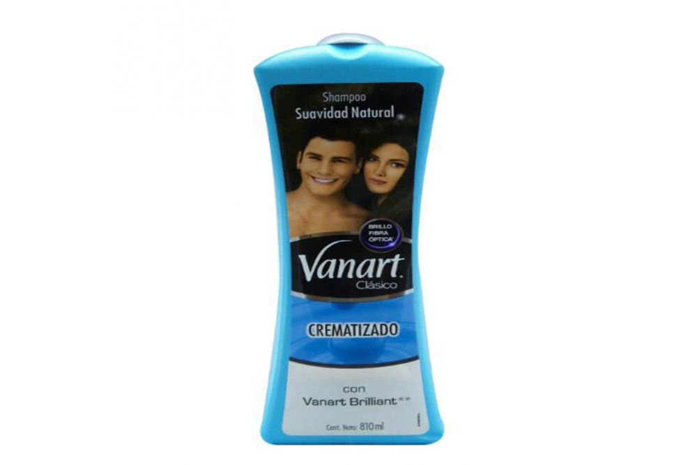 Shampoo Vanart Suavidad Natural Botella Con 810 mL