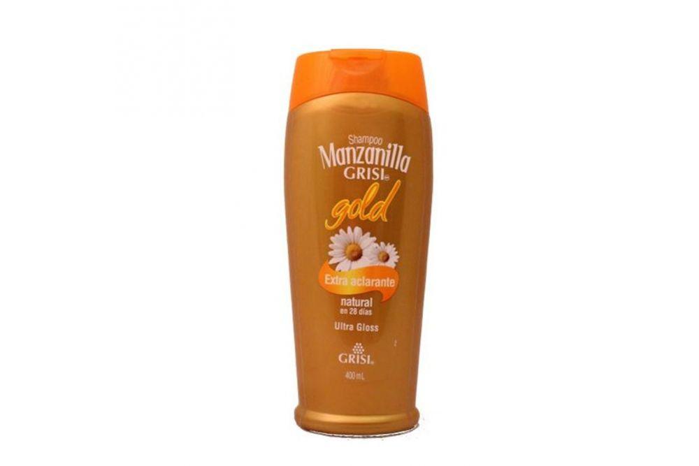 Shampoo Manzanilla Gold Botella Con 400 mL Extra Aclarante