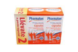 Pharmaton Caja Con Frascos Con 30 Cápsulas 2x1