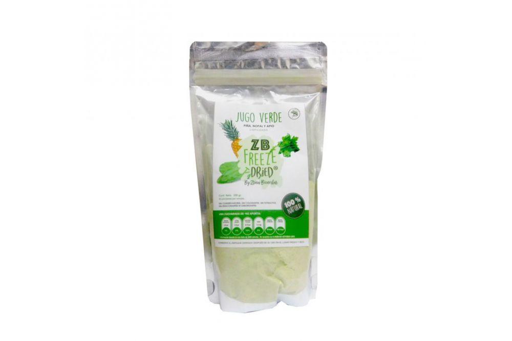 ZB Freeze Dried Jugo Verde Bolsa Con Liofilizado Con 200 g