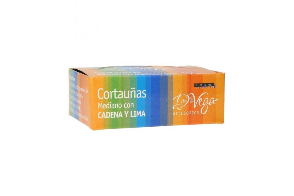 D la Vega Cortauñas Mediano Con Cadena Y Lima Caja Con 12 Piezas
