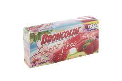 Broncolin Sugar Free Con Extractos Herbales Sabor Fresa Caja Con 35g