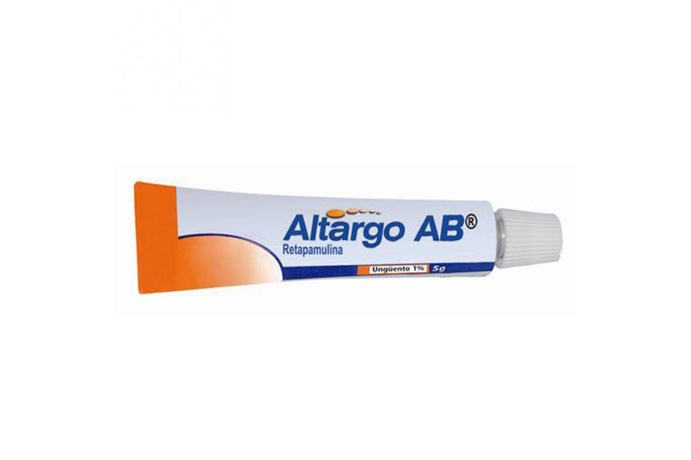 Altargo AB Ungüento 1% Caja Con Tubo Con 5 g