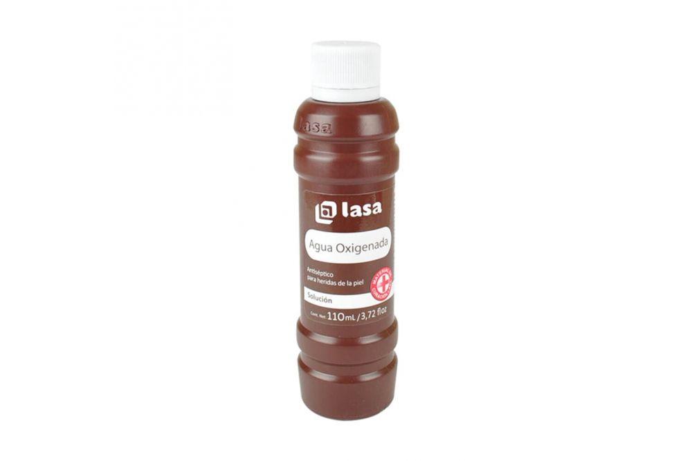 Agua Oxigenada Botella Con 110 mL