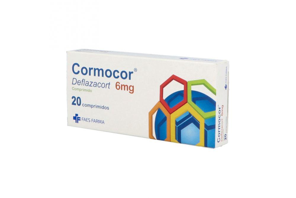 Cormocor 6 mg Caja Con 20 Comprimidos