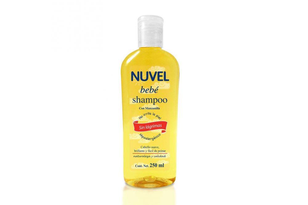 Shampoo Nuvel Manzanilla P Bebe 250 ml.