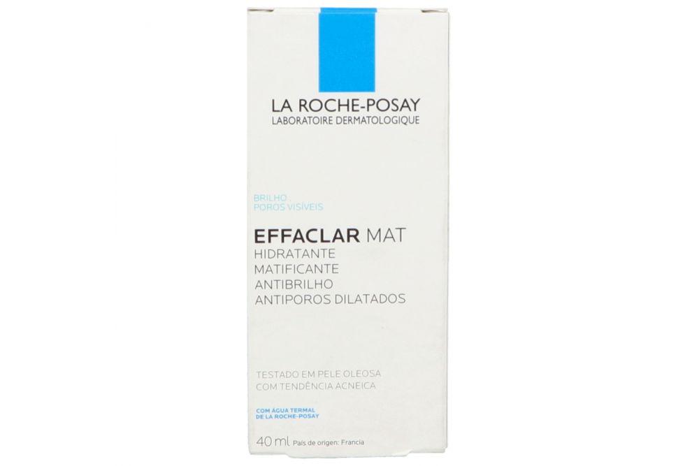Effaclar Mat Crema Facial Matificante y Humectante Tubo Con 40 mL