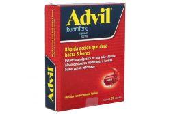 Advil Max 400 mg Caja Con 20 Cápsulas